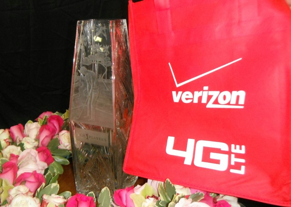 Win with Verizon (tags: #Verizon, #TPC, #PGA)